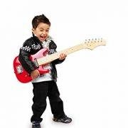 Jouetprive-Guitare-lectrique-rouge-pour-enfant-Jimmy-0