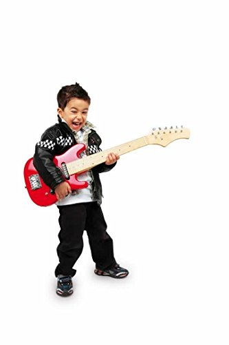 achat jouetprive guitare lectrique rouge pour enfant jimmy. Black Bedroom Furniture Sets. Home Design Ideas