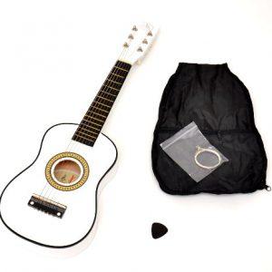 TS-Ideen-5205-Guitare-Acoustique-pour-Enfant-Blanc-0