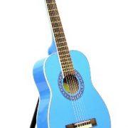 Ts-ideen-5285-Guitare-acoustique-classique-14-pour-Enfant-Bleu-clair-0-0