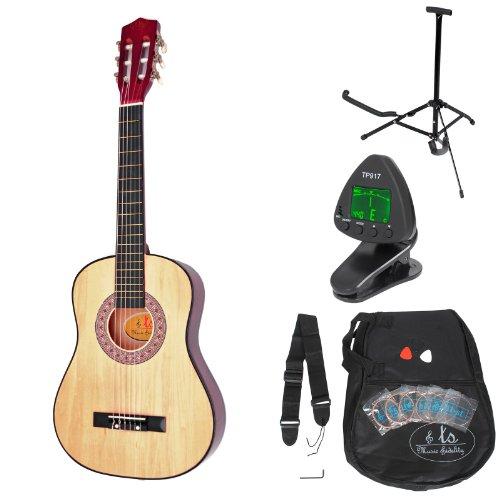 ts-ideen-5325-Guitare-acoustique-pour-Enfant-Marron-0