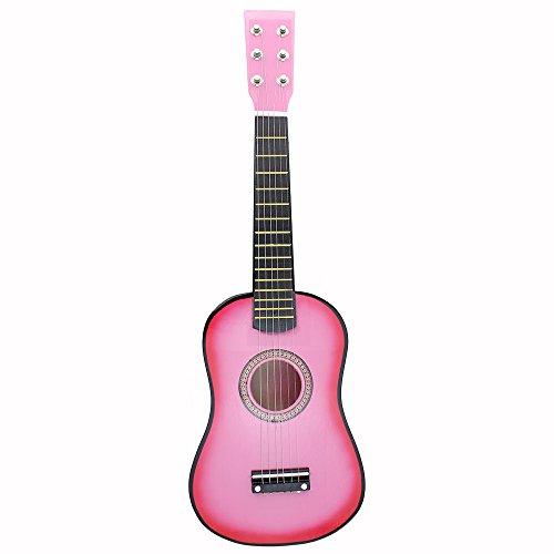 Andoer-23-Musical-Instrument–Cordes-Acoustic-Toy-de-Guitare-Mini-Guitare-Tilleul-Kid-avec-Plectre-1er-Cordes-0