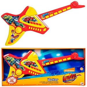 Blaze-Et-The-Monster-Machines-De-Luxe-Enfants-lectronique-Guitare-Instrument-Musical-Enfants-Jeu-Jouet-0