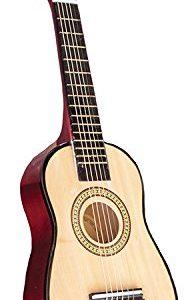 New-Classic-Toys-2042883-Guitare-En-Brun-0