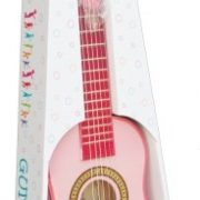 New-Classic-Toys-2042884-Guitare-En-Rose-0-0