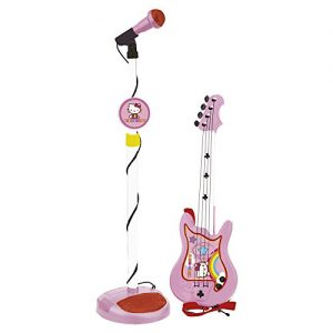 Reighellokitty-1494-Set-Guitare-Et-Micro-Hello-Kitty-0