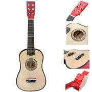 ammoon-23-Mini-Guitare-Basswood-Enfants-Jouet-Musical-Instrument-Acoustique–Cordes-avec-Mdiator-1er-Cordes-0-0
