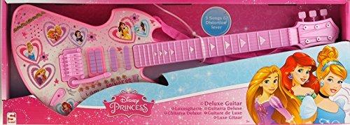 Disney-Princess-Deluxe-pour-enfant-enfants-Guitare-Instrument-de-musique-jouet-0