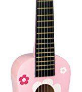 Vilac-8305-1er-Age-Guitare-en-Bois-Massif-avec-6-Cordes-0