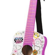 Smoby-510104-Maggie-Bianca-Guitare-Acoustique-1-Mdiator-1-une-Sangle-Rglable-0