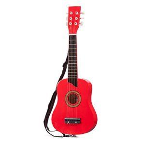 New-Classic-Toys-10303-Instruments-de-Musique-Guitare-De-Luxe-En-Rouge-0