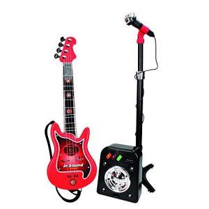 Reig-844-Ensemble-Guitare-lectrique--4-Cordes-Flash-Micro-Baffle-0