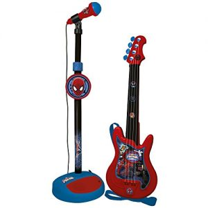 Reigspiderman-552-Ensemble-Guitare-Et-Micro-Spiderman-0