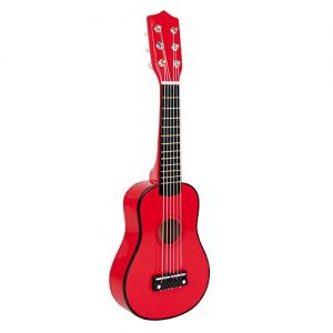 Small-Foot-Company-3306-Jouet-Musical-Guitare-Rouge-0