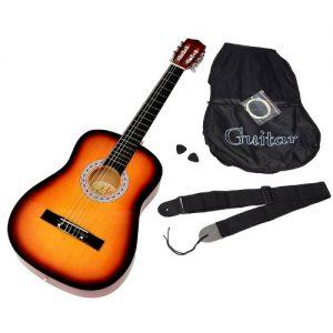 achat guitare toogoo r 23 mini guitare en tilleul jouet musical des enfants instrument. Black Bedroom Furniture Sets. Home Design Ideas