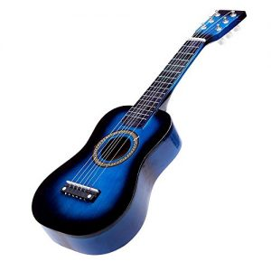 Guitare-TOOGOOR-23-Mini-Guitare-en-tilleul-Jouet-Musical-des-Enfants-Instrument-acoustique-a-cordes-avec-mediator-1ere-corde-bleue-0