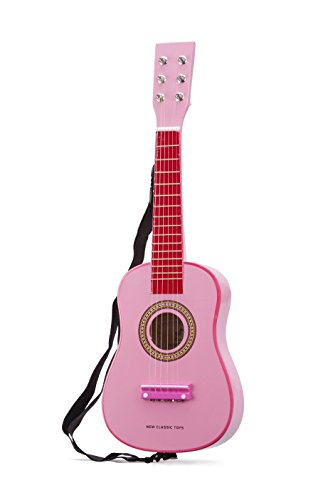 New-Classic-Toys-2042884-Guitare-En-Rose-0