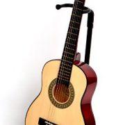 TS-Ideen-5206-Guitare-acoustique-14-avec-Etui-Sangle-Jeu-de-cordes-pour-Enfant-de-4–7-ans-Magenta-0-0