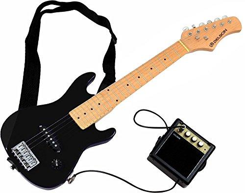 Delson-StarSingerBK-Pack-de-Guitare-lectrique-pour-enfant-Noir-0