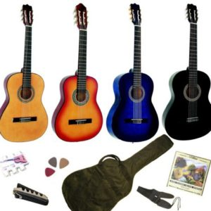 Pack-Guitare-Classique-34-8-13ans-Pour-Enfant-Avec-6-Accessoires-sunburst-0