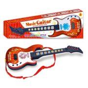 Guitare-Enfant-Foxom-4-Cordes-Simulation-Rock-lectrique-Mini-Guitare-Enfants-Instruments-de-Musique-Jouet-ducatif-Marron-0-0