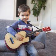 New-Classic-Toys-10303-Instruments-de-Musique-Guitare-De-Luxe-En-Rouge-0-0