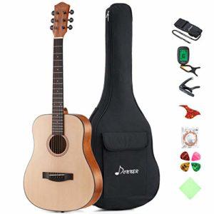 Donner-Guitare-Acoustique-Folk-36-Pouces-34-pour-Enfants-ou-Voyage-0