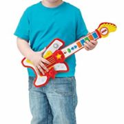 Fisher-Price-Guitare-Rockstar-Jouet-2-Ans-Reig-KFP2183-Rouge-0-0
