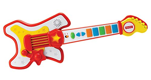Fisher-Price-Guitare-Rockstar-Jouet-2-Ans-Reig-KFP2183-Rouge-0