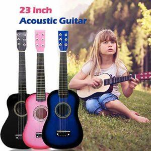 Origlam-Guitare-acoustique-pour-dbutants-6-cordes-pour-enfants-guitare-acoustique-classique-mini-guitare-acoustique-pour-dbutant-kit-idal-pour-les-enfants-et-les-enfants-Noir-0