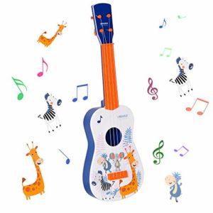 Shayson-Guitare-Jouet-4-Cordes-Mini-Guitare-Jouet-Musical-des-Enfants-Instrument-ducatifs-Cadeau-pour-Dbutant-denfants-Garon-Fille-3-Ans-0