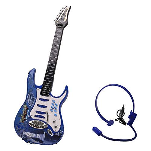 DYFO-Guitare-Enfant-6-Cordes-Guitare-Electrique-Jouet-Idal-pour-denfants-Dbutant-0