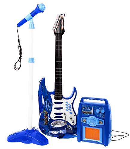 Guitare-acier-enroulement-la-premire-guitare-un-jouet-pour-un-enfant-en-bas-ge-amplificateur-bleu-0